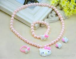 childrens jewlery five korean children s jewelry fashion jewelry pearl