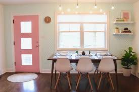modern dining area makeover that u0027s fresh and fetching the home