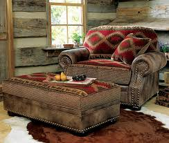 southwestern chairs and ottomans comfortable oversized chairs with ottoman homesfeed