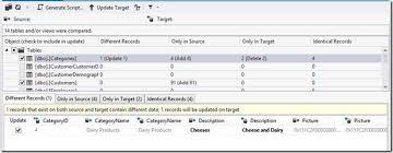 sql server compare tables announcing sql server data tools june 2013 sql server data tools