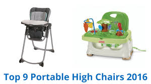 Portable Baby High Chair 9 Best Portable High Chairs 2016 Youtube