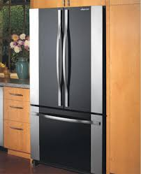 Glass Refrigerator Doors by Dacor Refrigerator French Door With Cabinet Depth Bottom Freezer