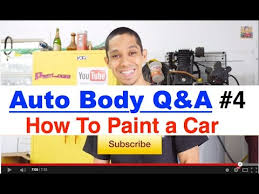 How To Match Car Paint Without Code How To Make New Paint Match Old Paint On A Car