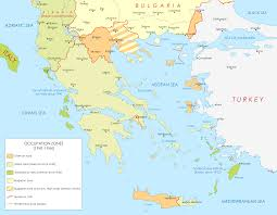 Map Of Greece by File Map Of Greece During Wwii Png Wikimedia Commons