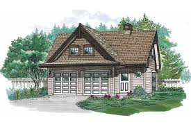Two Story Garage Plans With Apartments Charming Two Bedroom Apartment And Garage Hwbdo10551 Not Set