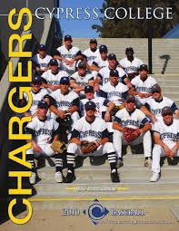 bentley college baseball 2010 cypress college baseball media guide by cypress college