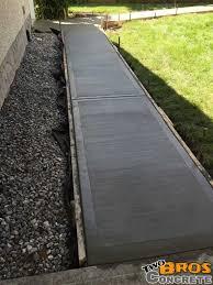 24 nice backyard sidewalks two bros concrete