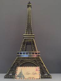 Paris Centerpieces Eiffel Tower Centerpiece Parisians Theme Decor Paris Wedding