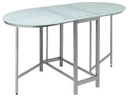 table de cuisine en verre pas cher table en verre cdiscount table jardin metal ronde pliante 12 table