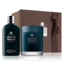 russian leather bath u0026 candle gift set molton brown uk