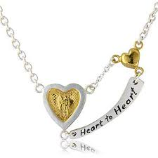 Engravable Heart Necklace Engraved Heart Necklace