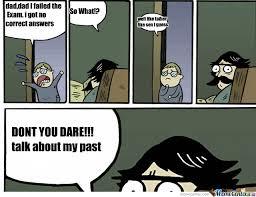 Dad Comic Meme - like father like son by blazebleach meme center