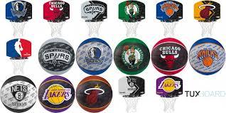 mini panier de basket pour chambre des ballons et mini paniers spalding des équipes nba à gagner concours