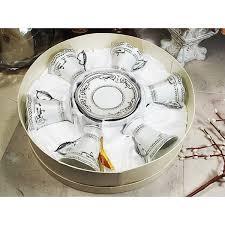 d lusso favors d lusso designs silver deco design twelve espresso set in