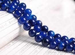 sapphire crystal bracelet images 12mmdiy handmade jewelry beaded crystal natural sapphire blue jpg