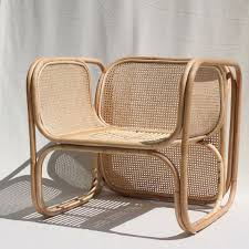 Cane Rocking Chairs For Sale The Cane Lounger Chair 100 Natural Woven Cane Seat And Back