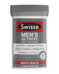 men s swisse swisse men s ultivite men s health vitamins supplements