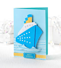 ahoy sailor try out this ship bonus card papercraft inspirations