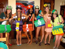 Mario Costumes Halloween Musely