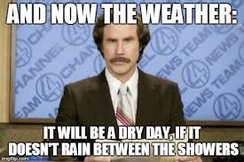 Bad Weather Meme - the weather with ron burgundy imgflip
