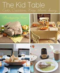 kid friendly thanksgiving table decor crafts recipes u0026 more