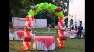 balloon decoration in chandigarh the big day event management co