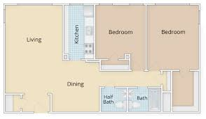 V A Floor Plan by Alexandria Va Apartments For Rent The Mill Old Town Curtain
