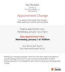 sending automated appointment emails to clients u2013 massagebook