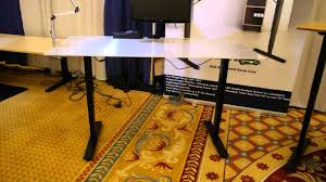Electronic Height Adjustable Desk by S2s Height Adjustable Desk Youtube
