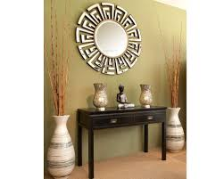 entryway design ideas love the mirrors table and the tall vases
