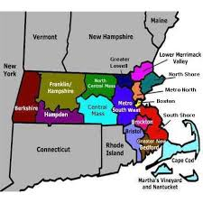massachusetts on a map locate
