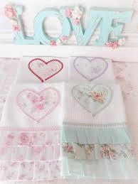 Shabby Chic Bath Towels by Repasadores Artesanales Shabby Chic Súper Delicados 35 50