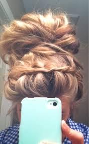 leo braiding hair el mejor leo messi moda femenina pinterest messy updo updo