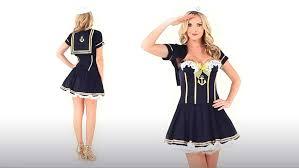 navy pin up sailor costume