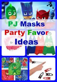 pj masks birthday party favors ideas birthday buzzin