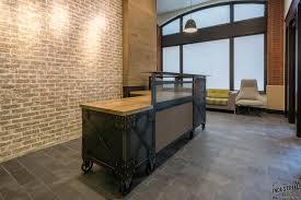 Industrial Reception Desk by Industrial Reception Desk Prince Furniture