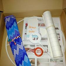 Crafters Supply Lampshade Making Craft Kit Make Your Own Lampshade 30cm Drum