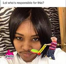 Funny Mustache Memes - shave it girl ghetto red hot