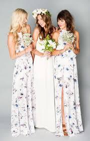 floral bridesmaid dresses best 25 patterned bridesmaid dresses ideas on floral