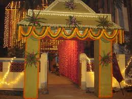 Bengali Mandap Decorations Decoration Services Wedding Gates Decoration Service Service