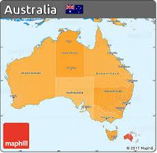 map of australia political free political shades simple map of australia
