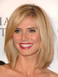 what face shape heidi klum the hottest cuts hair type face shapes and heidi klum