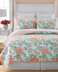 Macys Bedding Amazon Com Martha Stewart Collection Village Peony King Quilt