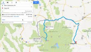 Map My Driving Route by Google Mapping Errors For Yellowstone In Off Season My