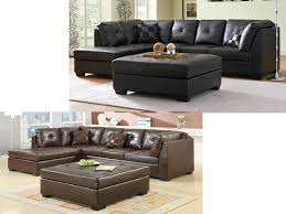 Left Sided Sectional Sofa Modern Sectional Living Room Bonded Leather Sofa With Chaise Va