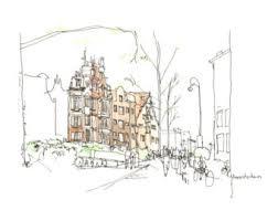 urban sketch etsy