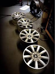 bentley wheels on audi 4 oem 19x9