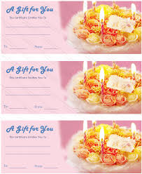 free printable dolly birthday gift certificate template
