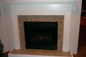 stacked stone fireplace surround kits natural gas facing
