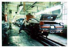 ford mustang assembly plant tour 1969 shelby mustang assembly line vintage car photos